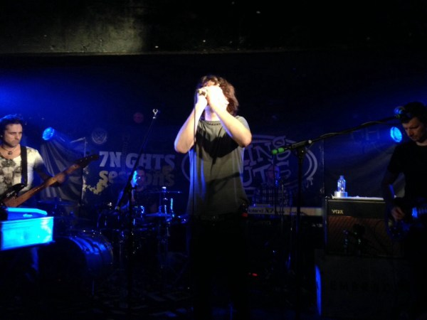 Embrace Come Back to What They Know – King Tuts Glasgow 12 Feb