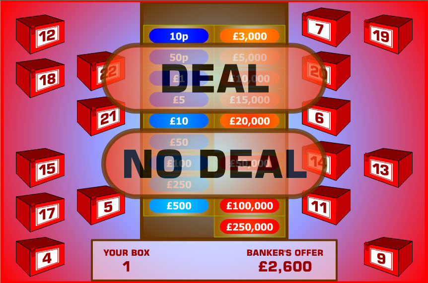 Deal Or No Deal Uk Game