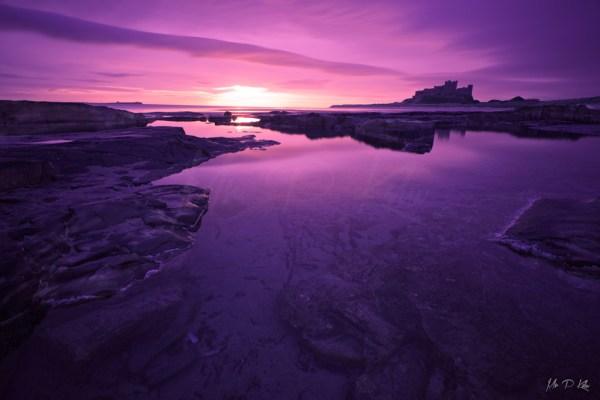 Bamburgh-Castle-Beach