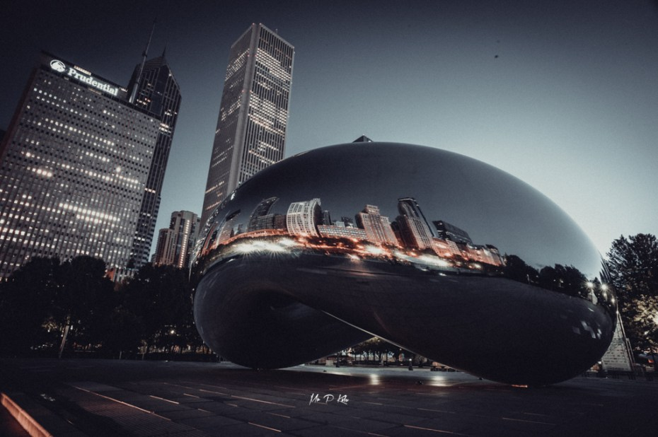 Image of Sir Anish Kapoor's Cloud Gate