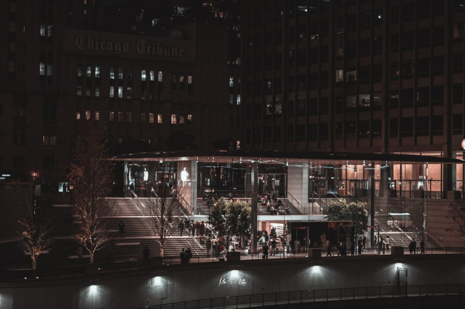 Image of Apple Store on Magnificient Mile Chicago