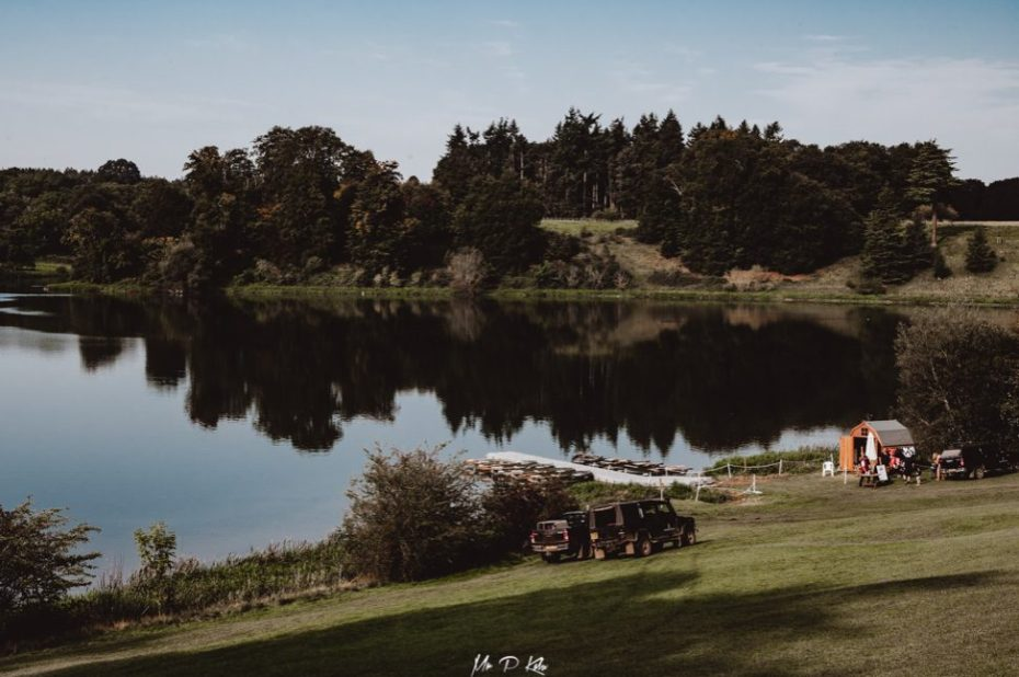 Image of the lake in the grounds of Blenheim Palace