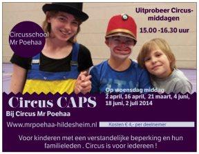 circus caps hoofd