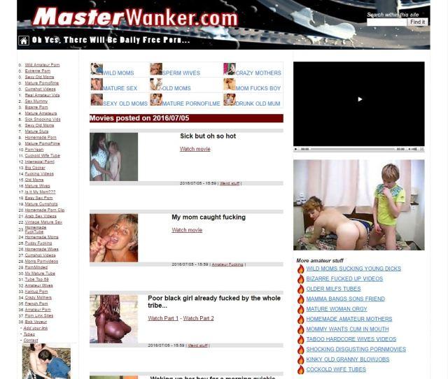 Porn Link Sites Master Wanker