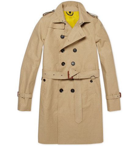 Burberry Prorsum Cotton-Gabardine Trench Coat