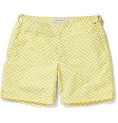 Orlebar BrownBulldog Mid-Length Geometric Print Swim Shorts