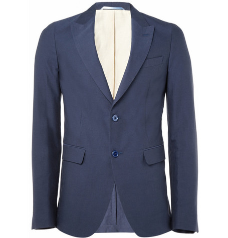 Gant Rugger Slim-Fit Cotton Blazer