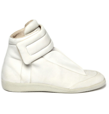 Maison Martin Margiela Leather High Top Sneakers