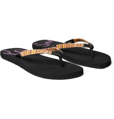 PS by Paul Smith Leather Strap Flip Flops