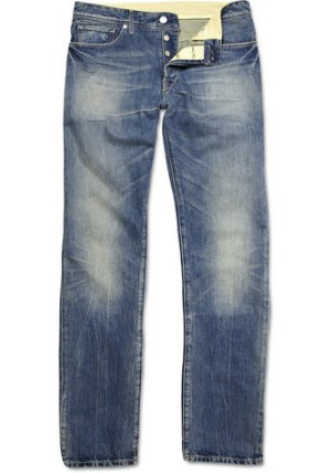 Levi's Made & Crafted Washed Straight-Leg Jeans £155