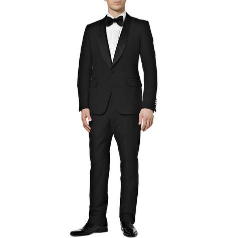 GucciWool Shawl Collar Tuxedo Suit