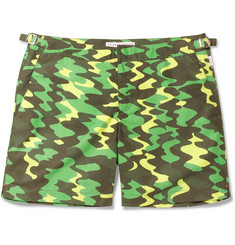 Orlebar BrownBulldog Camouflage-Print Mid-Length Swim Shorts