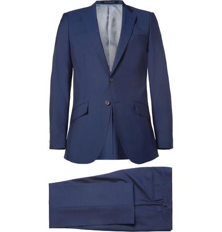 Richard JamesSlim-Fit Wool and Mohair-Blend Suit
