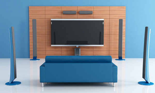 seting up home theater