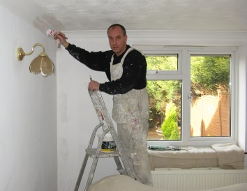 house painting fails