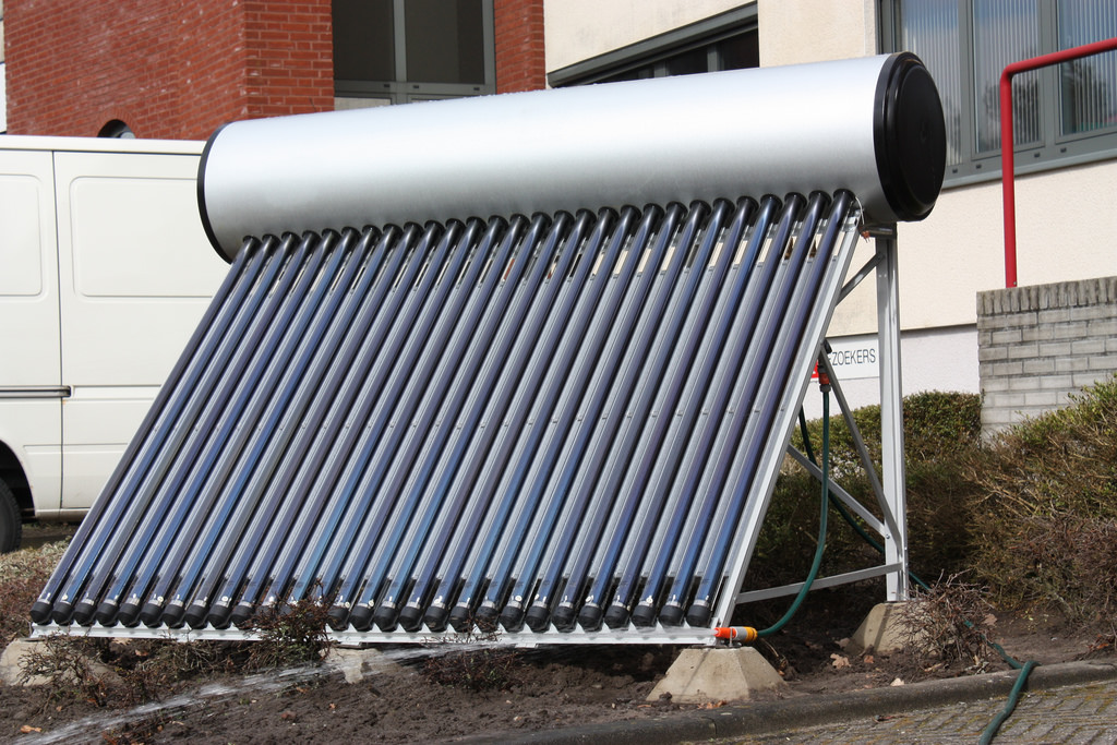 solar water heater piping