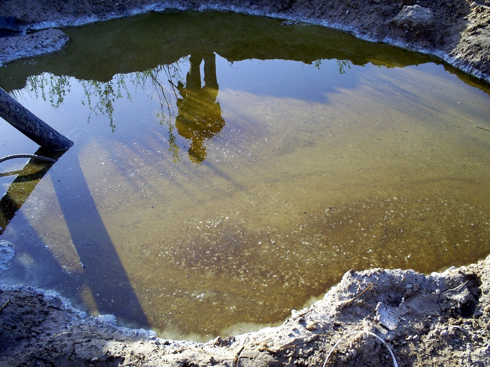 remove stagnant water