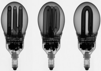 Defective fluorescent bulb