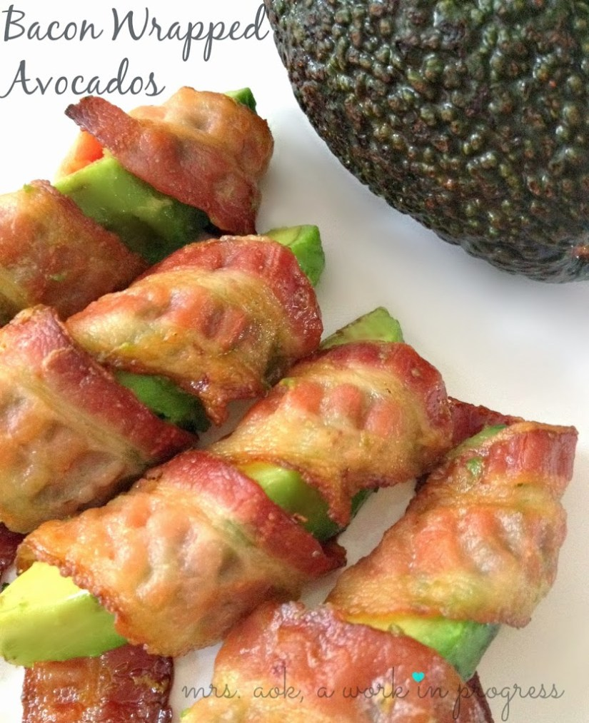 Bacon Wrapped Avocados, the perfect Paleo Super Bowl snack| Paleo| Super Bowl Snack| Easy Recipe| Mrs. AOK, A Work In Progress