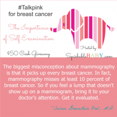 $50 #giveaway for #breastcancerawareness #breastcancer #BSE #IBC