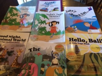Combine yoga and #literacy with @kidsyogastories  #giveaway via @pragmaticmom