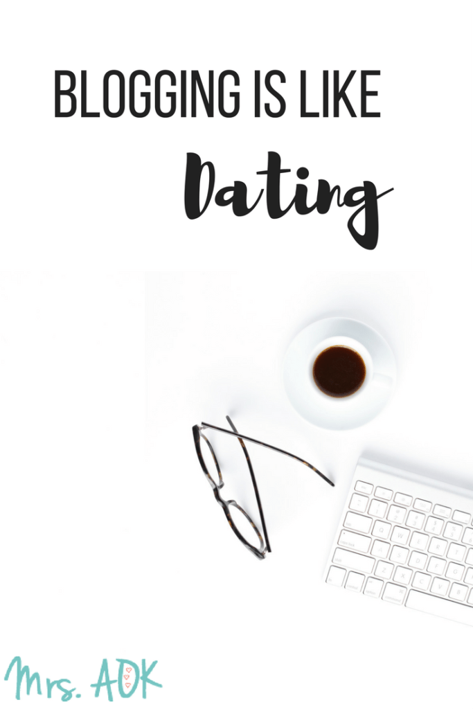 Blogging is like dating! Advice I learned from a relationship expert on Rachel Ray, taught me that dating and blogging are more similar than I had ever imagined.