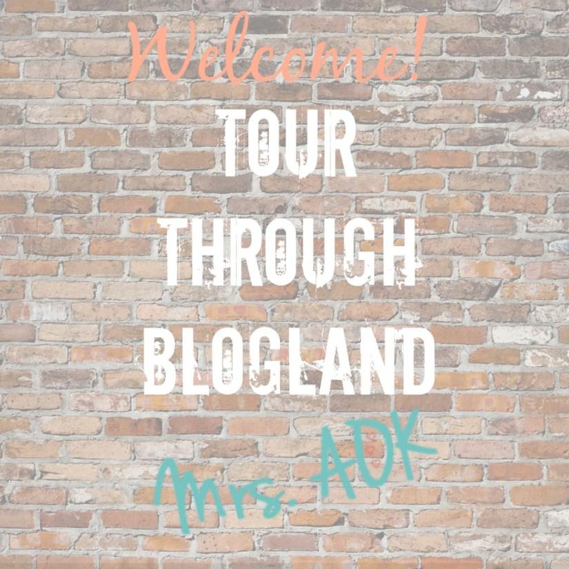 Welcome Tour Through Blogland Mrs. AOK