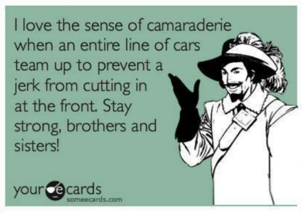 Car line humor