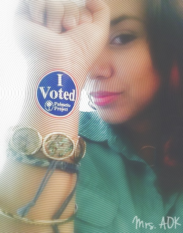 That's What's Up #iVoted