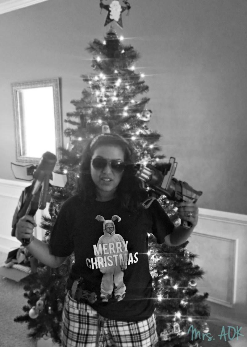 Gangsta Christmas Mommy