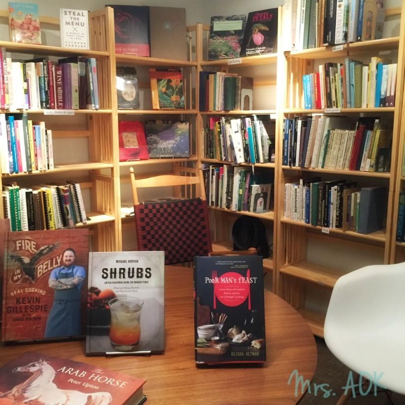 Blue Bicycle Books Charleston SC Mrs. AOK, A Work In Progress