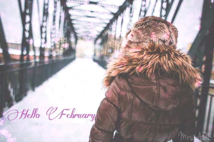 Hello February| Mrs. AOK, A Work In Pprogress.com