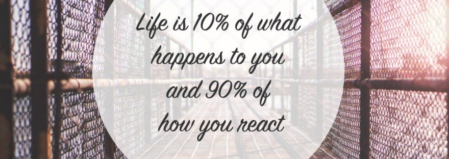 Mrs. AOK, a Work in Progress|Life is 10% of what happens to you, and 90% of how YOU react.|People Matter