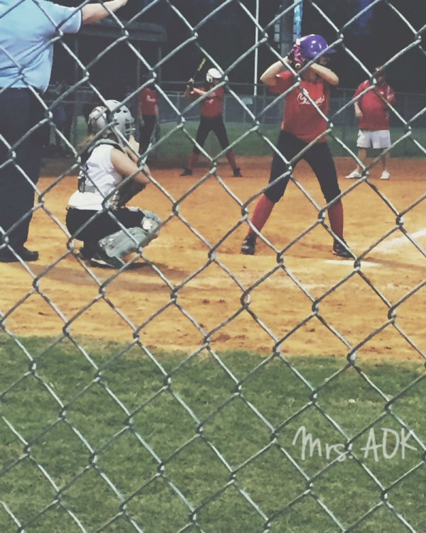 My catcher Softball
