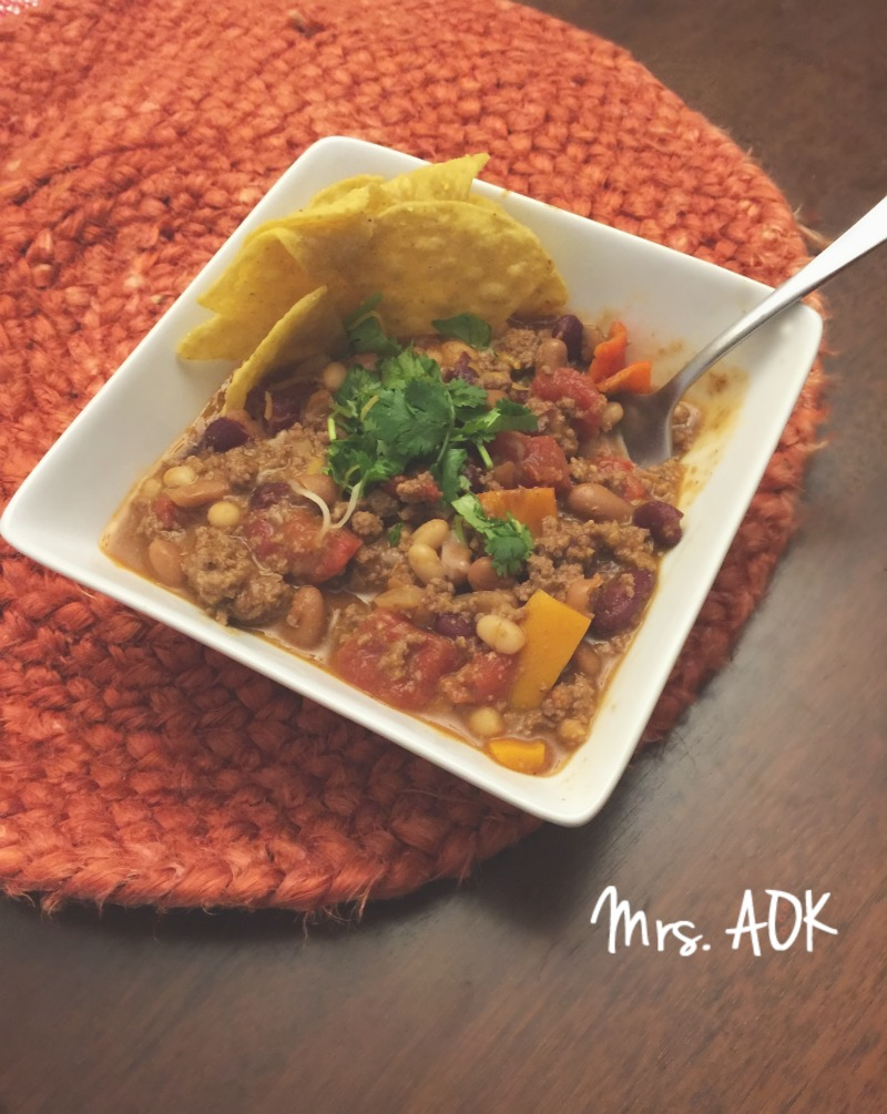 South Western Chili| Mrs. AOK, A Work In Progress