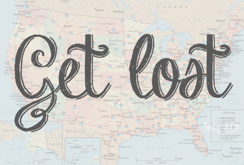 Get Lost Travel |Wanderlust| Road Trip |Mrs. AOK, A Work In Progress