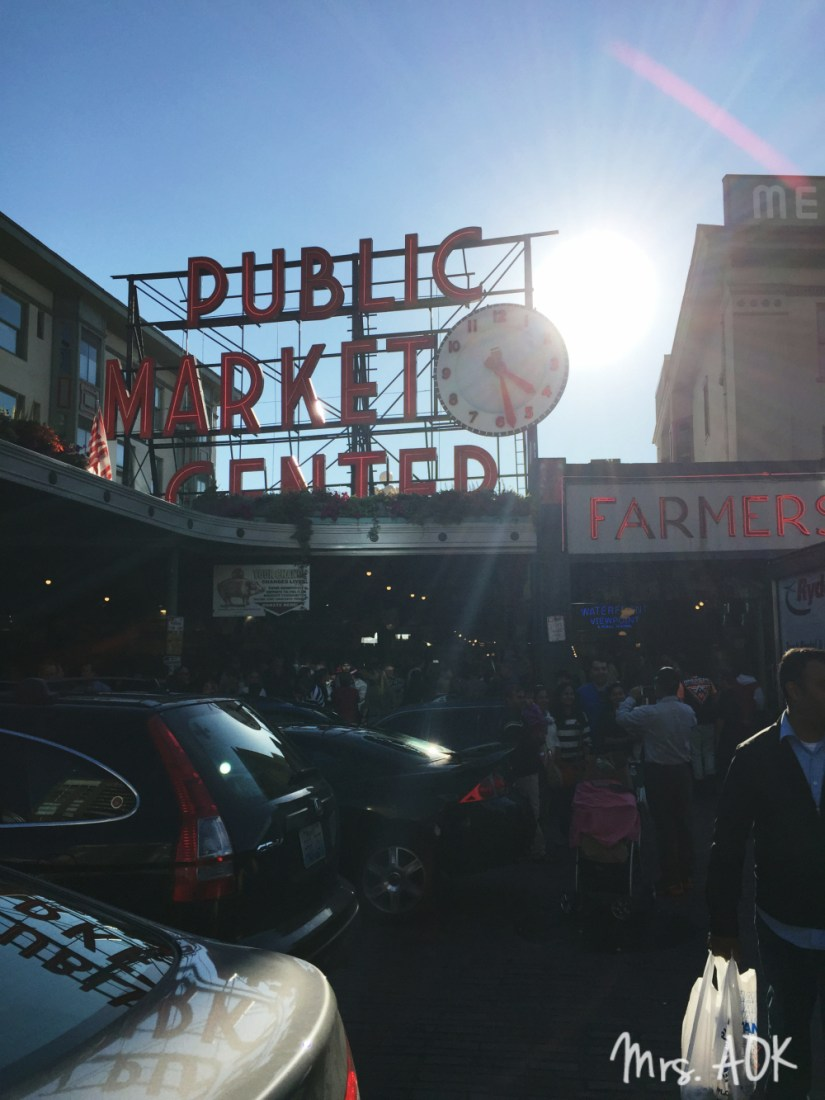 Public Market Center| Seattle| ThankYou Notes