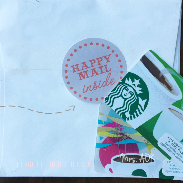 SBUX Happy Mail