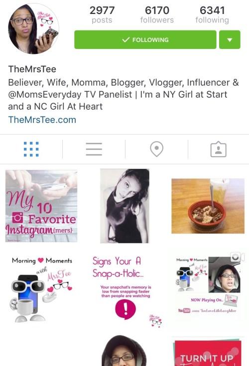 TheMrsTee on Instagram
