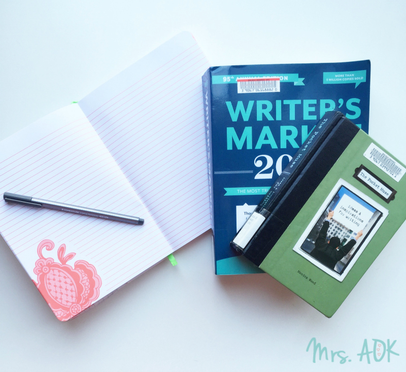 Currently Reading {April} Writer's Market & The Pocket Muse