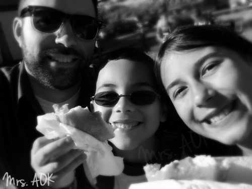 Thank You Notes| Doughnuts with dad