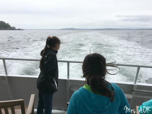 On the boat from Tillcum Village