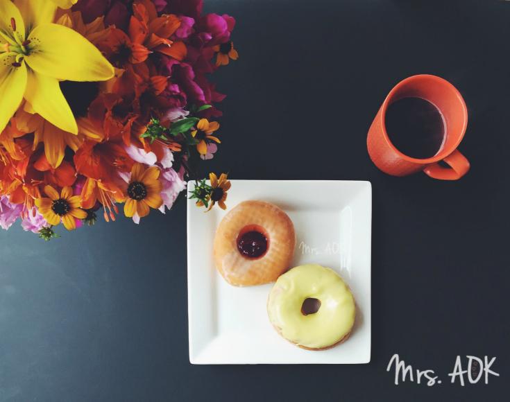 Thank You Notes {75} Sunday Morning Doughnuts