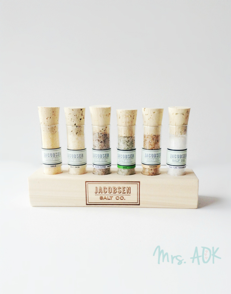 #SPBoxSwap Reveal| I'm in love with these assorted salts by Jacobsen Salt Co. that my swap partner Ally gifted me. :)