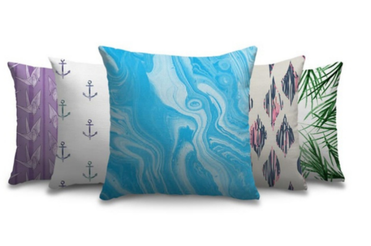 Groupon Customizable Canvas Pillows