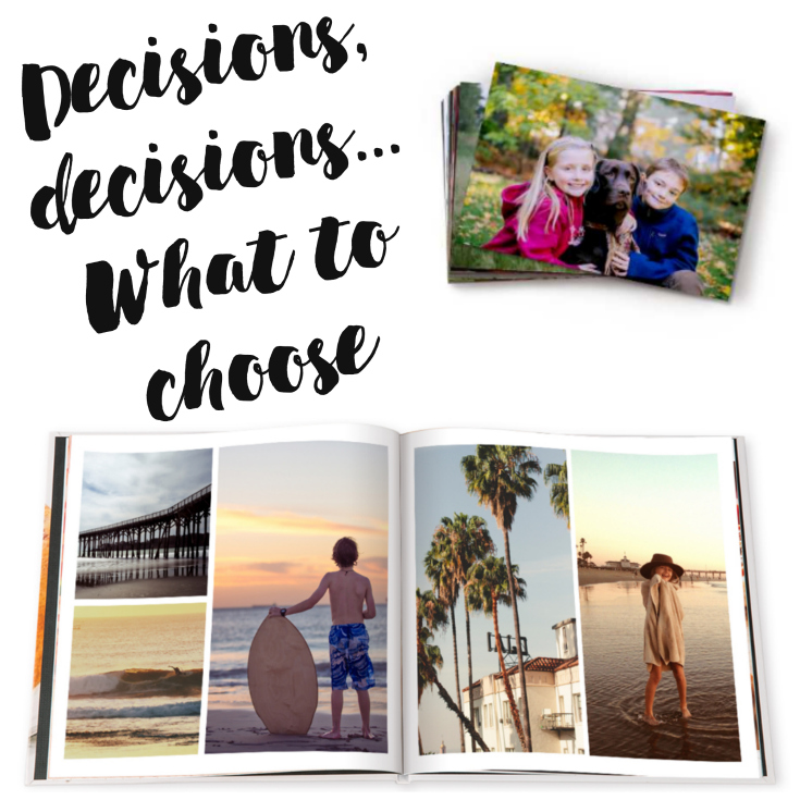 Decisions, Decisions.... What shall I choose? I have a Groupon coupon and I'm ready to use it. |Anyone else out there have thousands of pictures in their phones? I'm sharing how Groupon coupon is coming to the rescue to get those pictures to my... #spon #Groupon