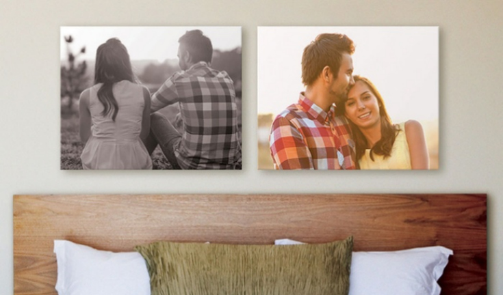 Groupon Canvas Photos