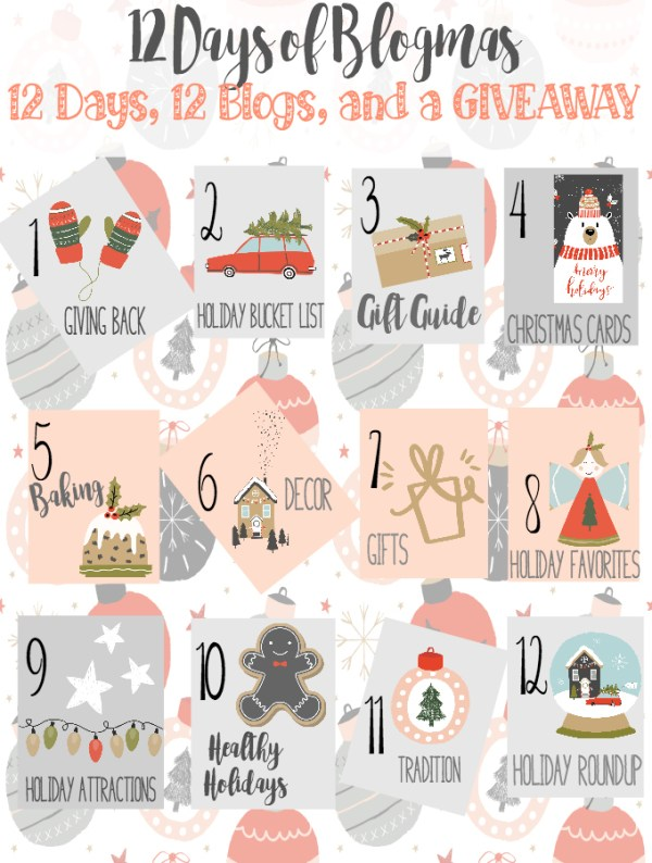 Introducing 12 Days of Blogmas {12 Days, 12 Blogs, and one HUGE giveaway}