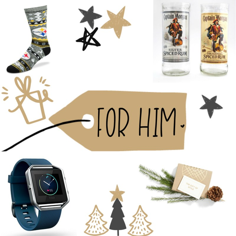 Day 3 of 12 Days of Blogmas: A Gift Guide For Everyone!! {For Him}