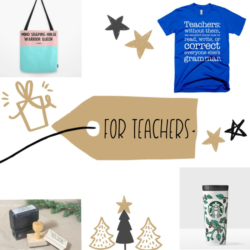 A gift guide for everyone!! {Teachers gifts}